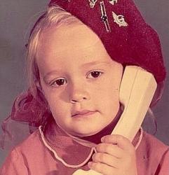 Елена Бушина в детстве