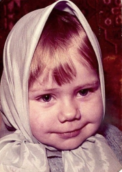 Слава Фролова в детстве