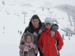 Игорь Кондратюк с семьей
