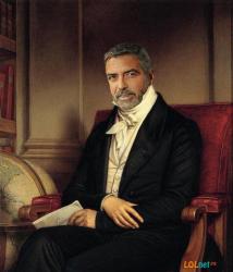 Джордж Клуни в искусстве