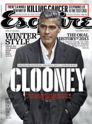 Джордж Клуни для Esquire, декабрь 2013