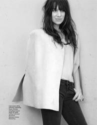 Шарлотта Генсбур для журнала Elle France