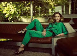 Эмили Блант для Harper's Bazaar