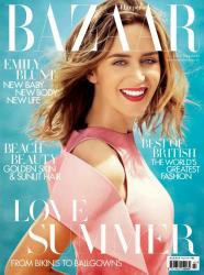Эмили Блант в фотосессии Алекси Любомирски для журнала Harper's Bazaar UK, июнь 2014