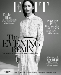 Эмили Блант для The Edit Magazine, декабрь 2014