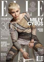 Майли Сайрус для Elle Magazine US, май 2014