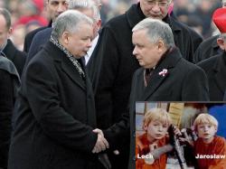 Ярослав Качиньский в детстве
