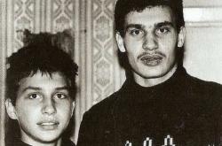 Братья Кличко в юности
