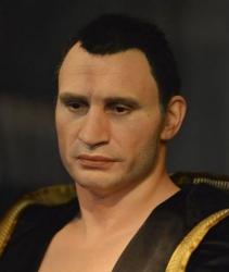 Восковая копия Виталия Кличко