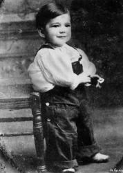 Хамфри Богарт в детстве