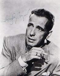 Автограф  Хамфри Богарта