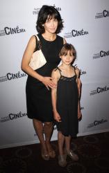 Софи Марсо с дочкой