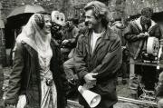 """Софи Марсо и Мэл Гибсон на съемках фильма """"Храброе сердце"""", 1994 год"""
