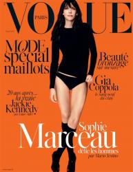 Софи Марсо в фотосессии Марио Тестино для Vogue Magazine, май 2014