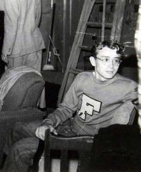 19-летний Джеймс Дин во время учебы в Городском колледже Санта-Моники