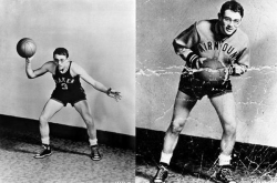 Джеймс Дин в то время когда он выступал за школьную баскетбольную команду, 1948 год
