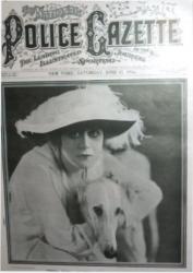 Теда Бара на обложках журналов