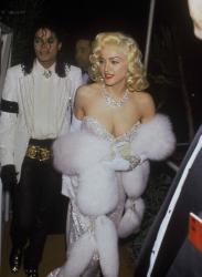 """Майкл Джексон и Мадонна на церемонии вручения """"Оскара"""", 1991 год"""