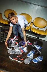 Джастин Бибер в рекламной кампании Adidas Neo осень/зима 2013