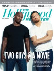 Ченнинг Тейтум и Джейми Фокс для июльского номера THR Magazine