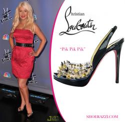 Звездная обувь Кристины Агилеры