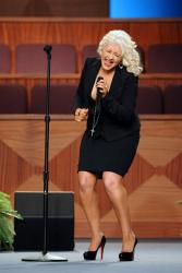 Кристина Агилера на сцене