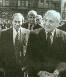 Горбачев уже не президент, Путин - еще не президент.  1994 год
