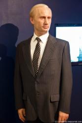 Восковый Владимир Путин в музеях мадам Тюссо