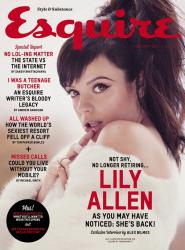 Лили Аллен для Esquire UK, февраль 2014