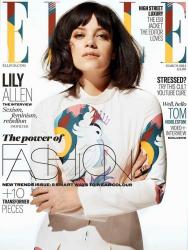 Лили Аллен для ELLE UK, март 2014