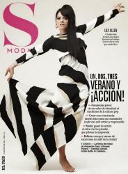 Лили Аллен в фотосессии Эрика Гиймана для журнала S Moda, июнь 2014