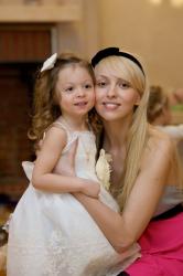Ольга Полякова и ее дети