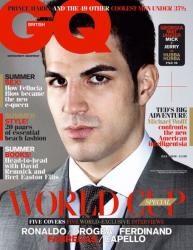 Сеск Фабрегас в журнале GQ
