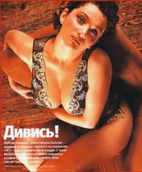 Наталья Калатай в русском журнале FHM