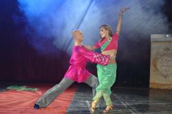 Елена Шоптенко на танцполе