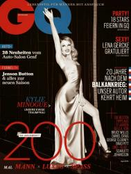 Кайли Миноуг для немецкого выпуска GQ Magazine, апрель 2014