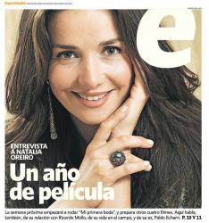 Наталия Орейро на обложках журналов