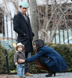 Семейка Макконахи в Нью-Йорке