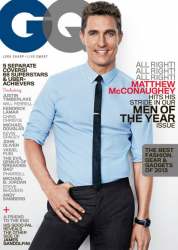 Мэттью МакКонахи для журнала GQ, декабрь 2013