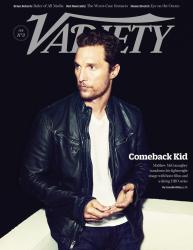 Мэттью МакКонахи для Variety, февраль 2014