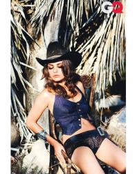 Мила Кунис в журнале GQ.