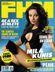 Мила Кунис на обложках журналов