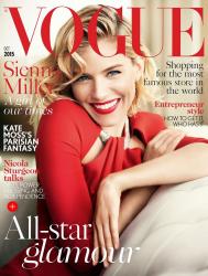 Сиенна Миллер для Vogue UK, октябрь 2015