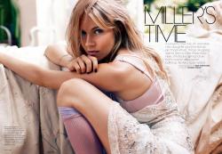 Сиенна Миллер для Elle USA, ноябрь 2013