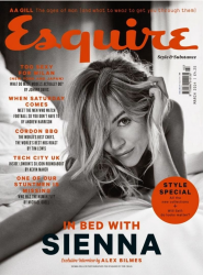 Сиенна Миллер для Esquire Magazine UK, март 2014