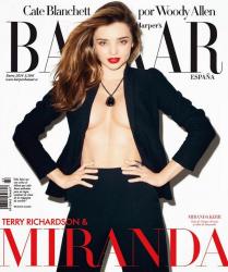 Миранда Керр для Harper's Bazaar Spain, январь 2014