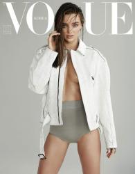 Миранда Керр в июльском номере журнала Vogue Korea