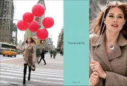 Даутцен Крус в рекламе Tiffany&Co