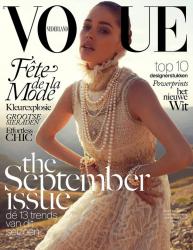 Даутсен Крус для журнала VOGUE Netherland, сентябрь 2013