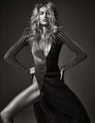 """10 супермоделей в фотосессии Марио Сорренти """"Perfect Ten"""" для W Magazine, февраль 2014"""